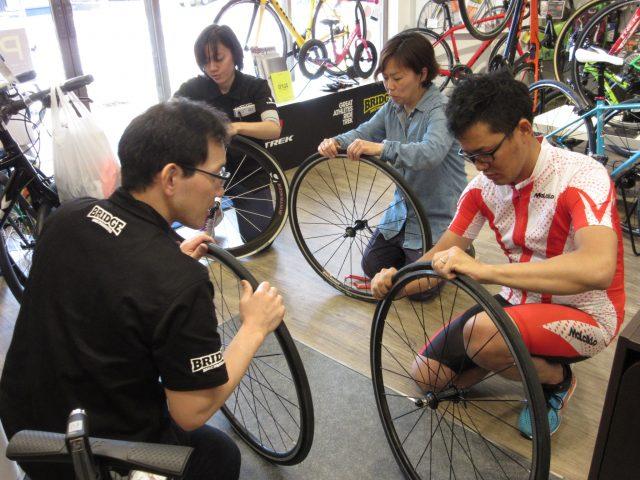 パンク修理講習会 @ BRIDGE BIKE PRODUCTS | 鎌ケ谷市 | 千葉県 | 日本